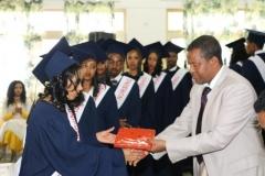 Tien studenten afgestudeerd dec. 2016